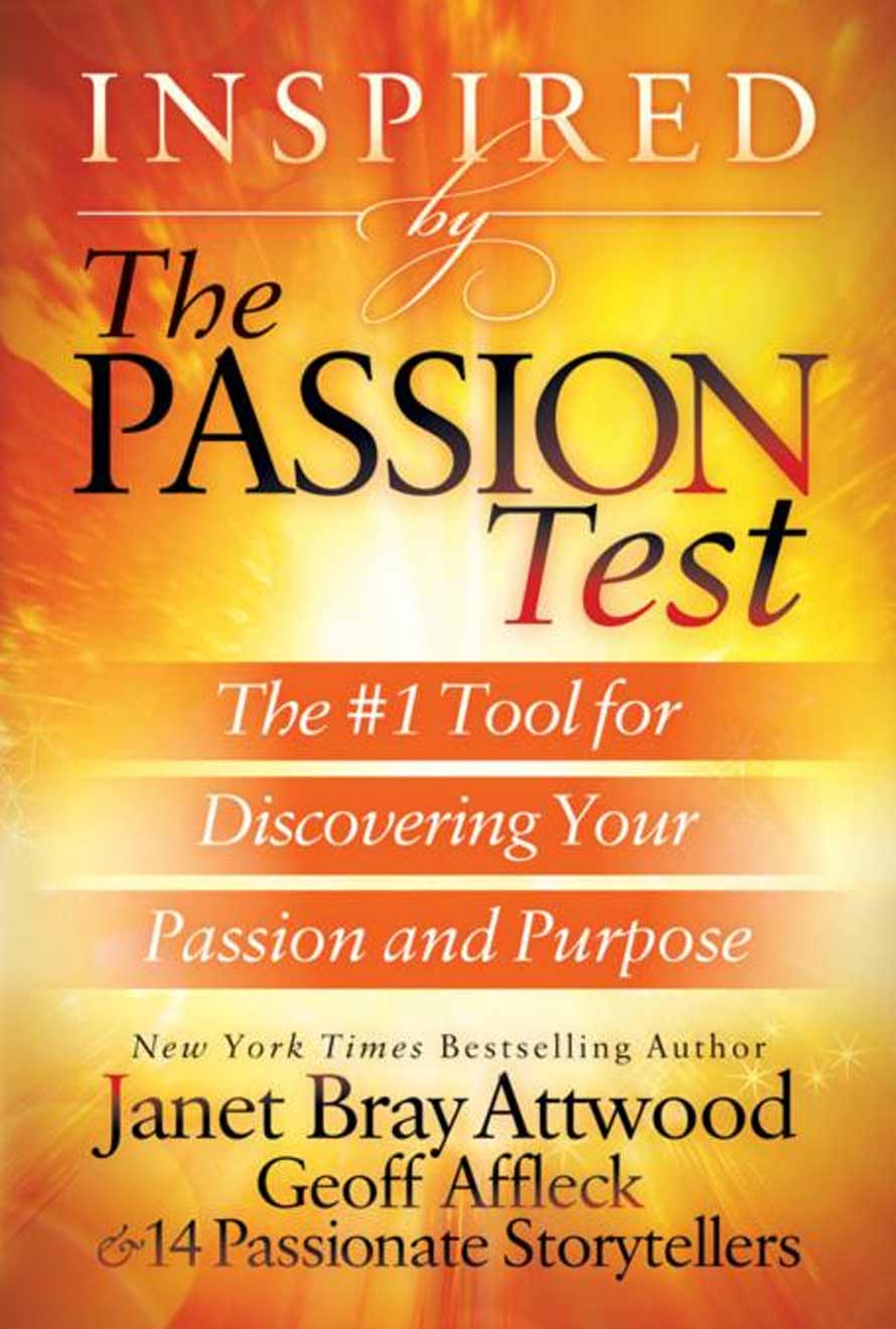 Inspired by the Passion Test Book