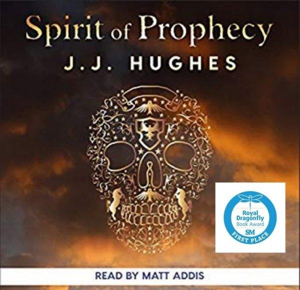 Spirit of Prophecy by Jill Hughes - Audio Book - Read by Matt Addis Audio book winner