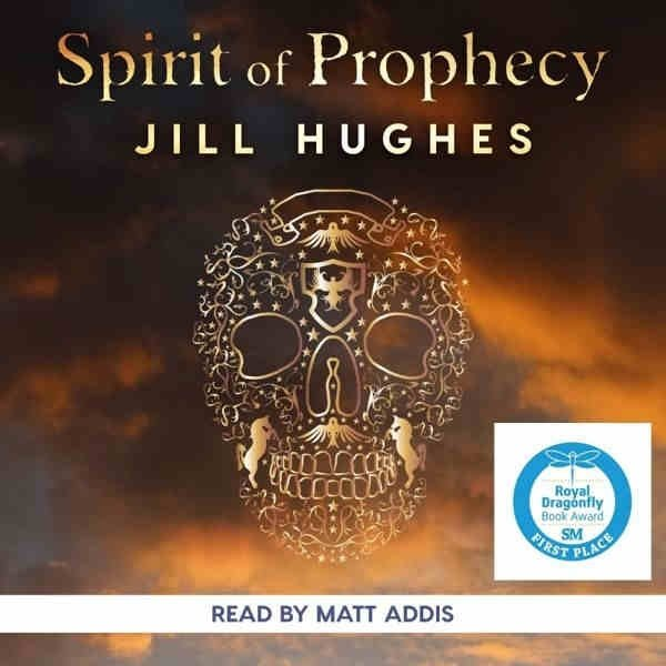 Spirit of Prophecy cover with scull and dark background
