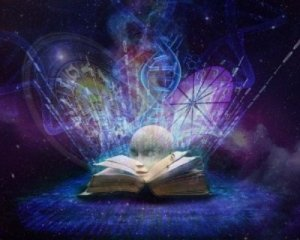 Book of Akashic Records in Mysterious Light - Awakening Alchemy