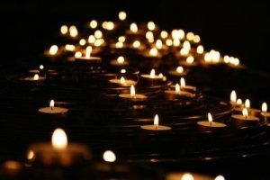 Hundreds of Candles off into the distance - Awakening Alchemy