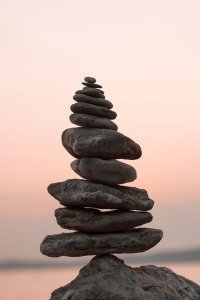 A Small Stone Rock Pile: Largest to Smallest - Awakening Alchemy
