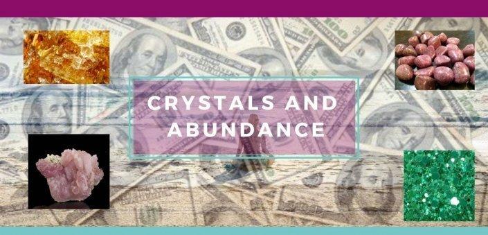 Crystals Give Prosperity - Awaskening Alchemy