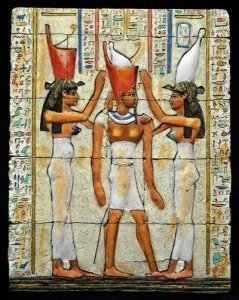 An Egyptian Pharoah Being Crowned - Awakening Alchemy