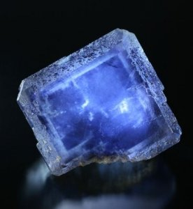 Blue Flourite Crystal - Awakening Alchemy
