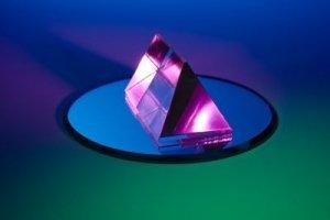 Purple Gemstone Floating on a Dish - Awakening Alchemy