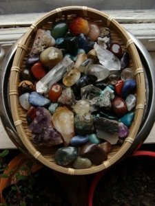A collection of Abundance Crystals - Awakening Alchemy