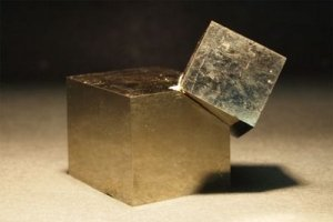 A Pyrite Crystal - Awakening Alchemy