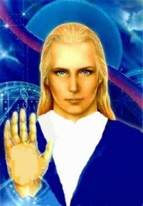 Star Being Ashtar Waving at us - Awakening Alchemy