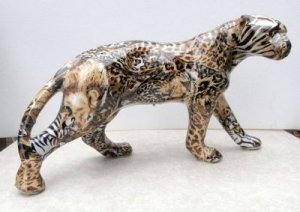 China Collectible Leopard Knick Knack - Awakening Alchemy