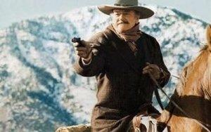 John Wayne on a Horse: Pointing a Colt 45 - Awakening Alchemy