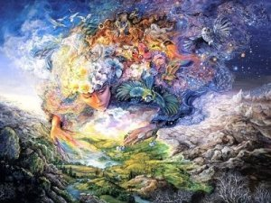Artist's Rendition of Mother Earth/Gaia - Awakening Alchemy