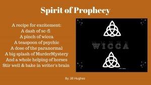 Spirit of Prophecy Recipe with Wicca Symbols - Awakening Alchemy