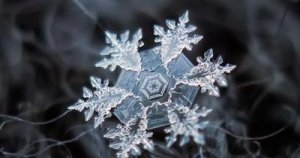 Snowflake Crystals Magnified - Awakening Alchemy