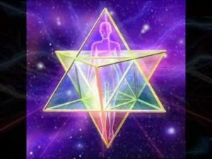 Representation of a Spinning 3D Merkaba - Awakening Alchemy
