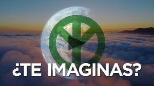 Spanish Can You Imagine Video Link - Earth With a Peace Sign - Awakening Alchemy