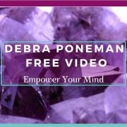 Debra Poneman - Free Video 2 - Debra on a Background of Purple Crystals - Awakening Alchemy