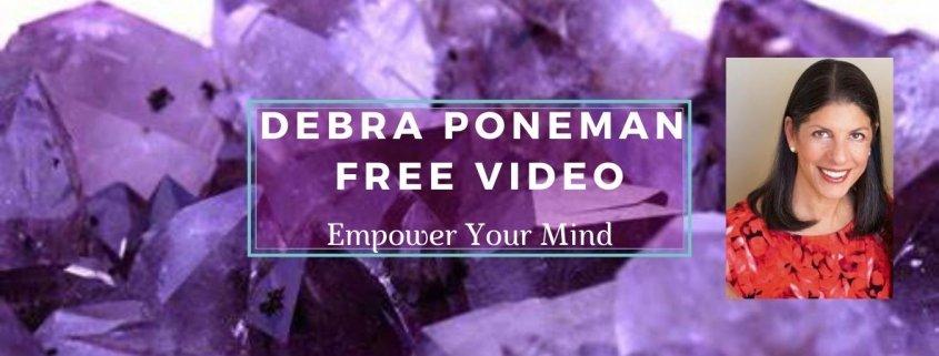 Debra Poneman - Free Video 2 - Debra on a Background of Purple Crystals - Awakening Alchemy