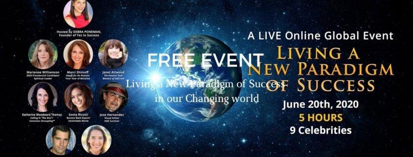 New Paradigm Banner For Debra Poneman - Awakening Alchemy -