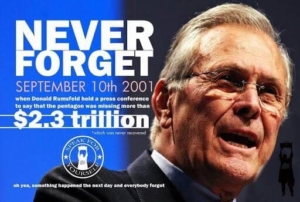 Awakening Alchemy - Donald Rumsfeld Announcing Loss of Billions From Defense - NEVER FORGET