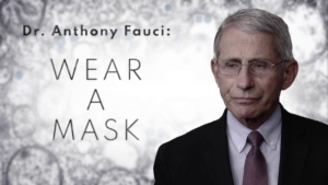 Awakening Alchemy - Picture of Anthony Fauci and Quote: Wear A Mask