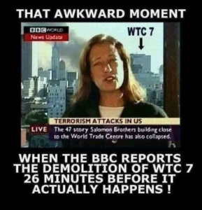 Awakening Alchemy - BBC News Report reporting the collapse of WTC7 - 26 Minutes Before it actually happened