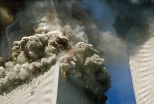 Awakening Alchemy - Collapse of one of the Twin Towers on 9/11
